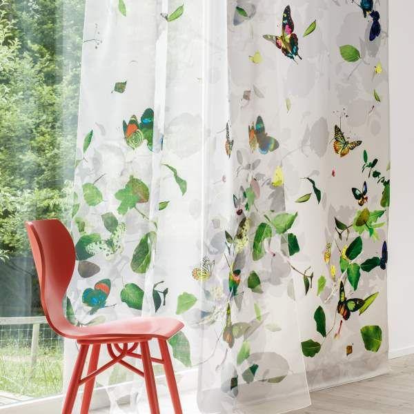 gardinenstoffe blumenmuster creation baumann bei nasha ambrosch creation baumann. Black Bedroom Furniture Sets. Home Design Ideas