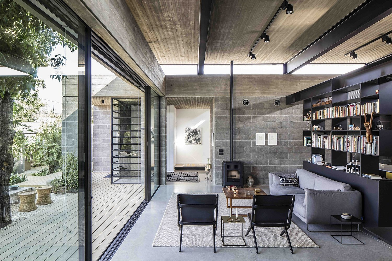 10 contemporary rooms with concrete ceiling contemporary family 10 contemporary rooms with concrete ceiling home design blogshouse