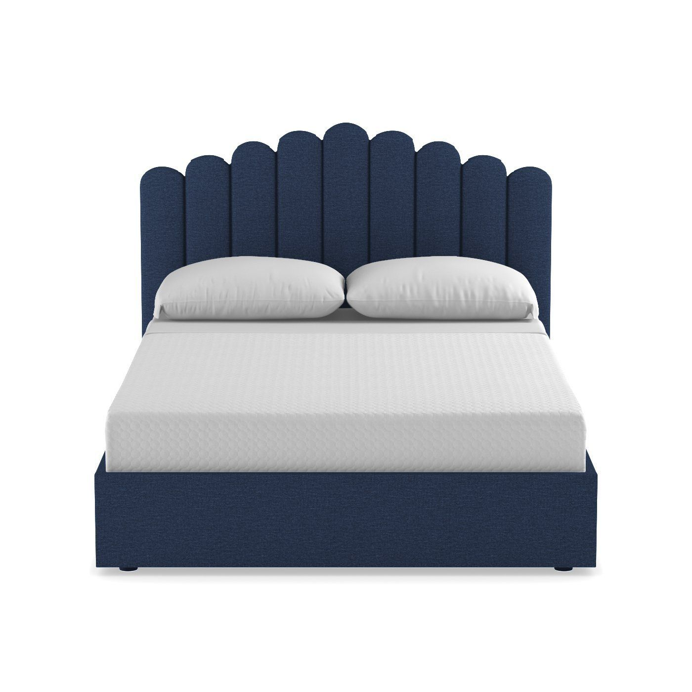 Coco Drive Upholstered Bed From Kyle Schuneman Choice Of Fabrics