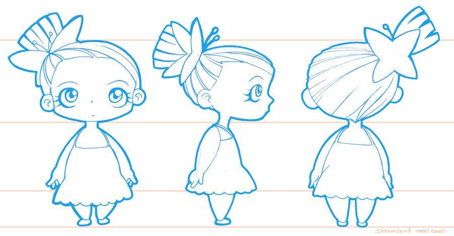 Character Design Fundamentals : Model sheet chibi sheets pinterest models
