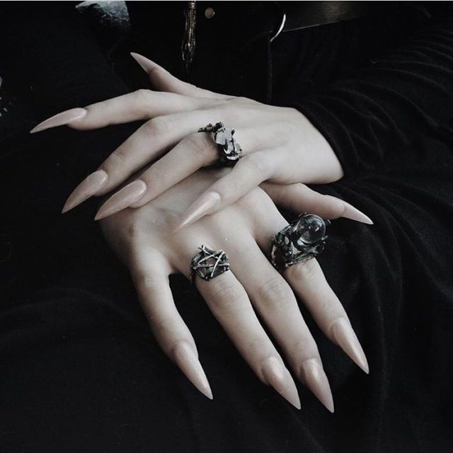 I Need These Nails Goth Nails Witch Nails Witchy Nails