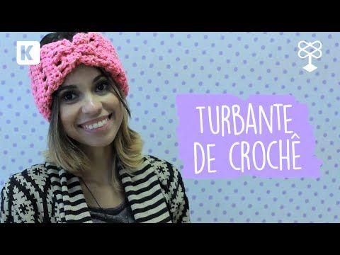 Como fazer: turbante de crochê