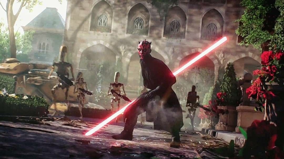 Darth Maul Star Wars Battlefront Ii 2017 Fett Star Wars