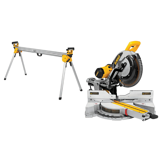 Dewalt Mitre Saw With Long Stand 12 15 A Dws780lst Rona Sliding Compound Miter Saw