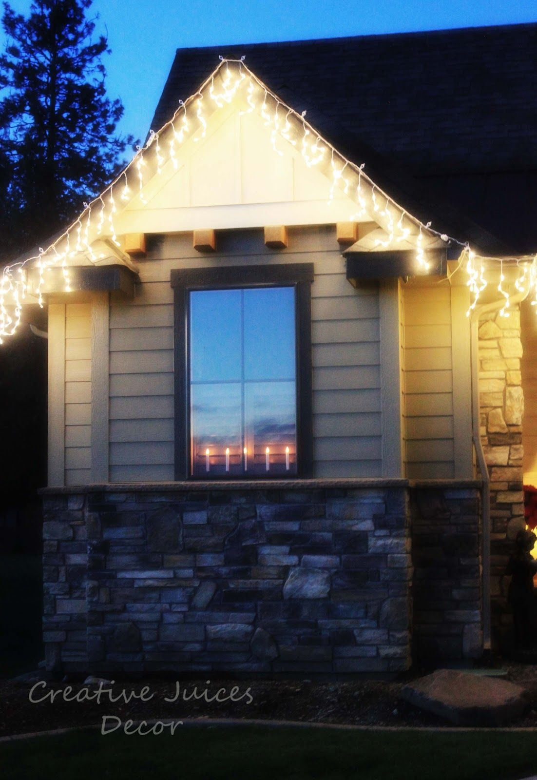 Creative Juices Decor: Outdoor Christmas Lights - Tips and Tricks for Taking Pictures