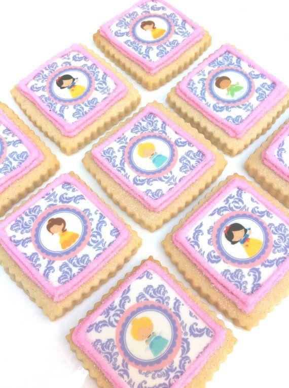 ADORABLE! Princess Cookies 1 dozen by SunshineBakes on Etsy, $30.00