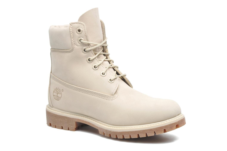 Timberland 6 inch premium boot (weiß) - Stiefeletten & Boots bei Sarenza.de
