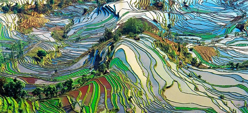 Samye Krasivye Mesta Mira Otdyh I Puteshestviya Dobavila Gulnaz Nasyrova Vilingstore Net Honghe Colorful Places Yunnan