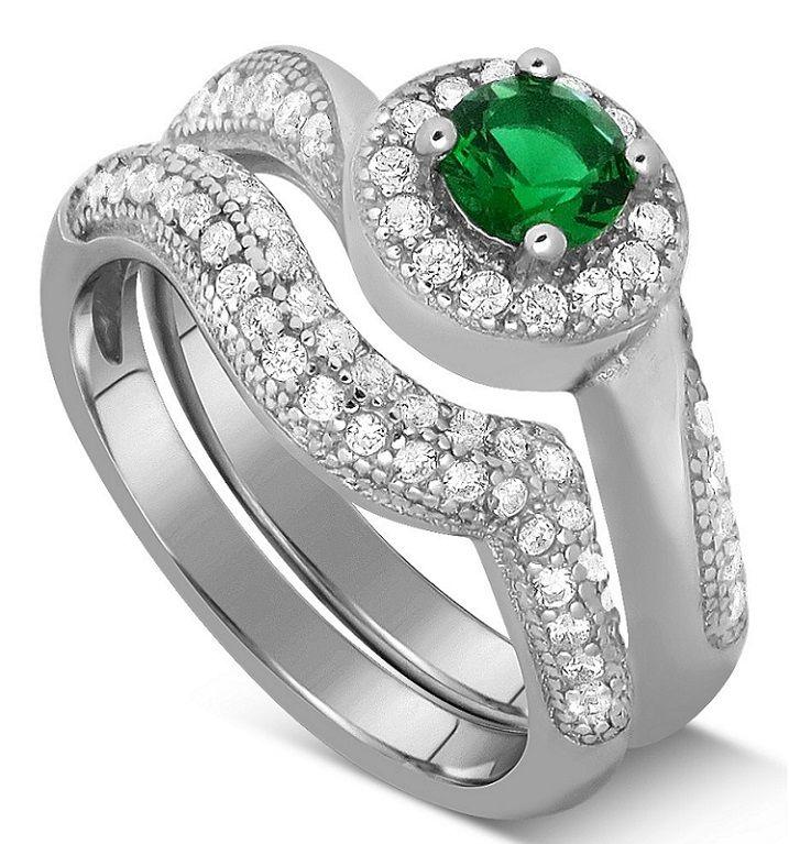 Cool Wedding Couple Ring Set