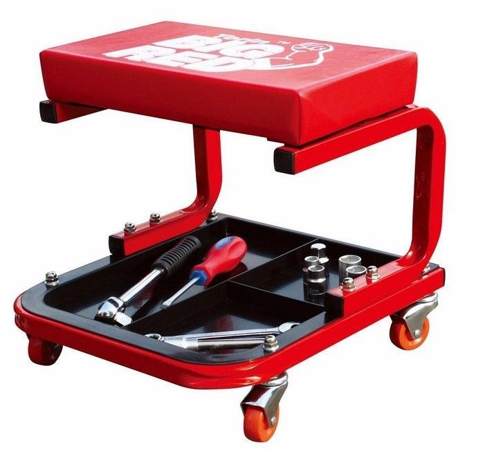 Mechanics Automotive Garage Rolling Tool Creeper Seat