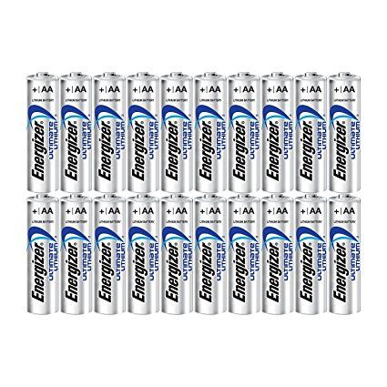 Energizer Ultimate Lithium Aa Size Batteries 20 Pack Energizer Energizer Battery Lithium Battery Charger