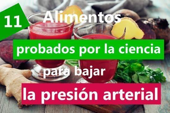 Dieta para controlar la hipertension arterial