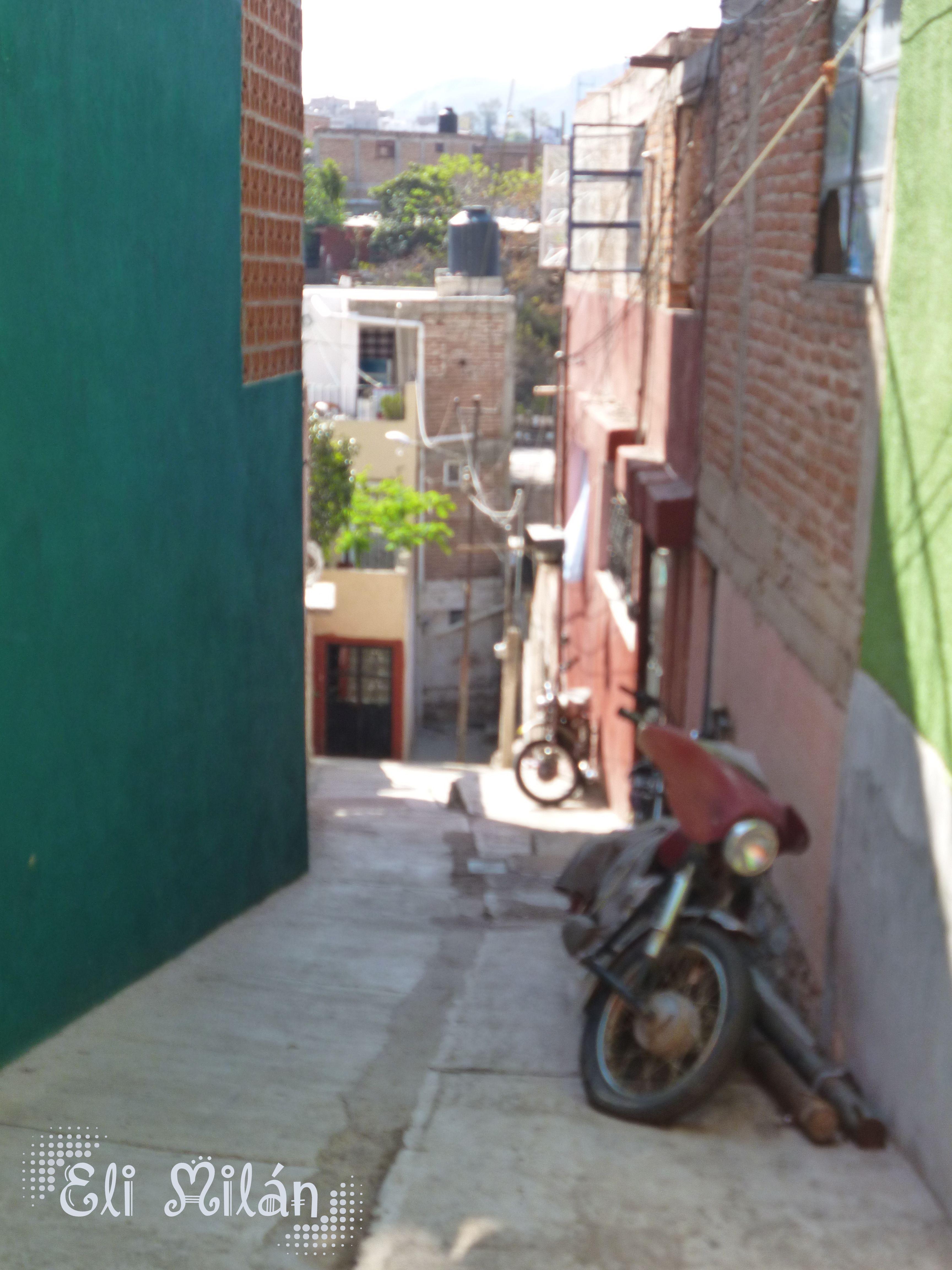 Sin duda algunas los callejones son emblemáticos distintivos de Guanajuato Capital