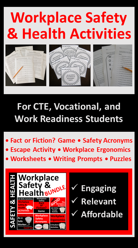 Workplace Safety and Health Bundle SAVE 30 Workplace