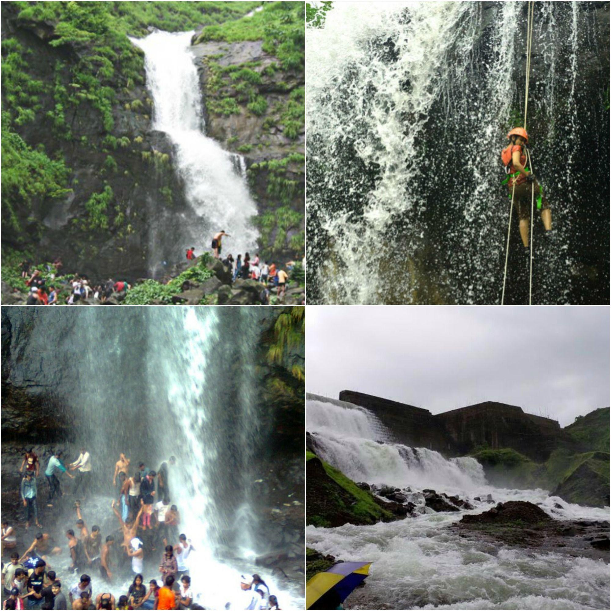 Beautiful Waterfalls in Karjat Near Karjatvilla