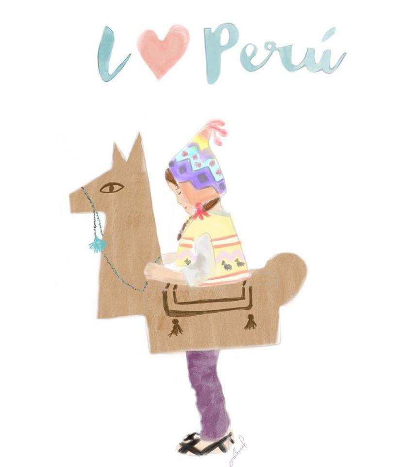 Ilustración de Laura Reaño #lauisare #illustration