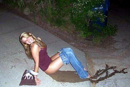 Girls gone wild peeing