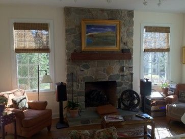 Snuggle up by the fire and enjoy Breslow\'s shaded windows ...