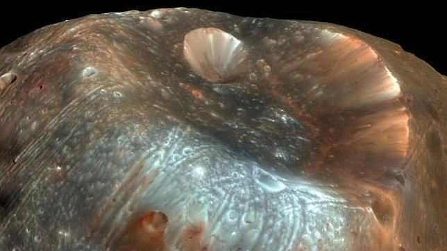 La luna que salió de Marte (con imágenes) | Fotos de marte ...