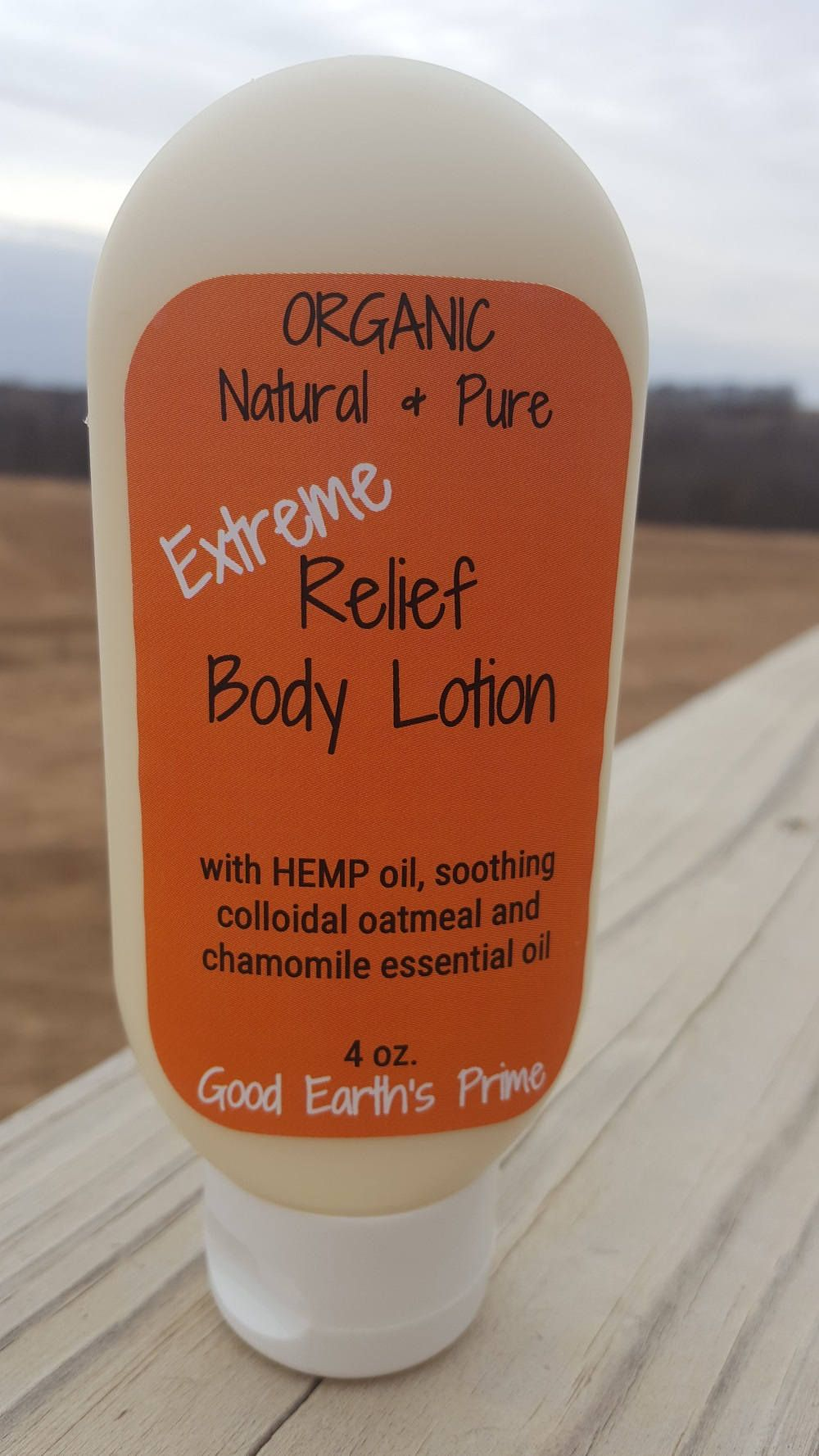 Extreme Relief Body Lotion * Organic Lotion with hemp oil