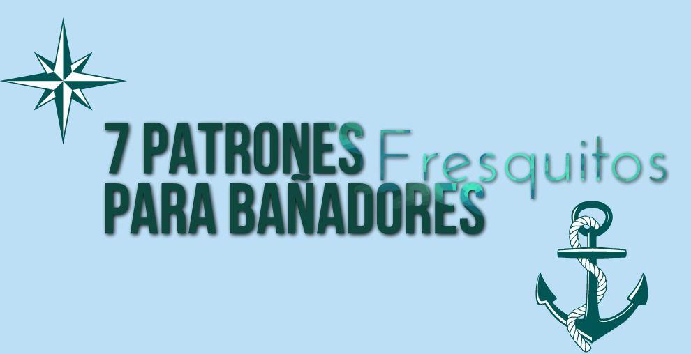 7 Patrones Fresquitos para Bañadores   Es pan cosido   ideas bebes ...