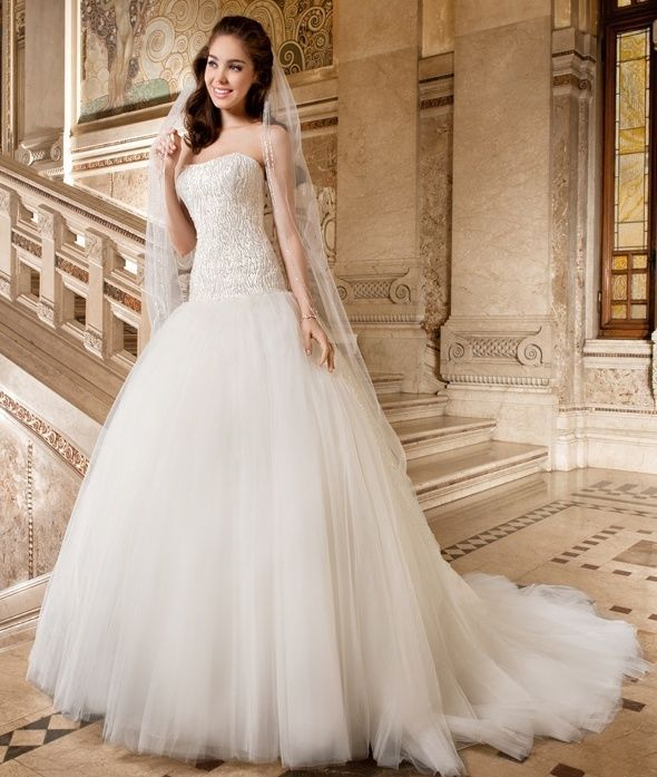 Drop Waist Ivory 2011 Wedding Dress With Jeweled Bodice: New White/Ivory Beaded Wedding Dress Bridal Gown Custom
