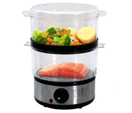 Brentwood Ts1005 Two Tiered Food Steamer Silver In 2019