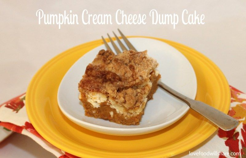 ...  comes the dumping part, a dry cake mix is dumped on top and drizzled with…
