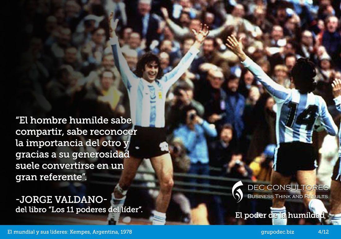 El mundial y sus líderes, Argentina 78