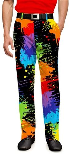 Mens Paint Balls Made To Order Pants by Loudmouth Golf.  Buy it @ ReadyGolf.com