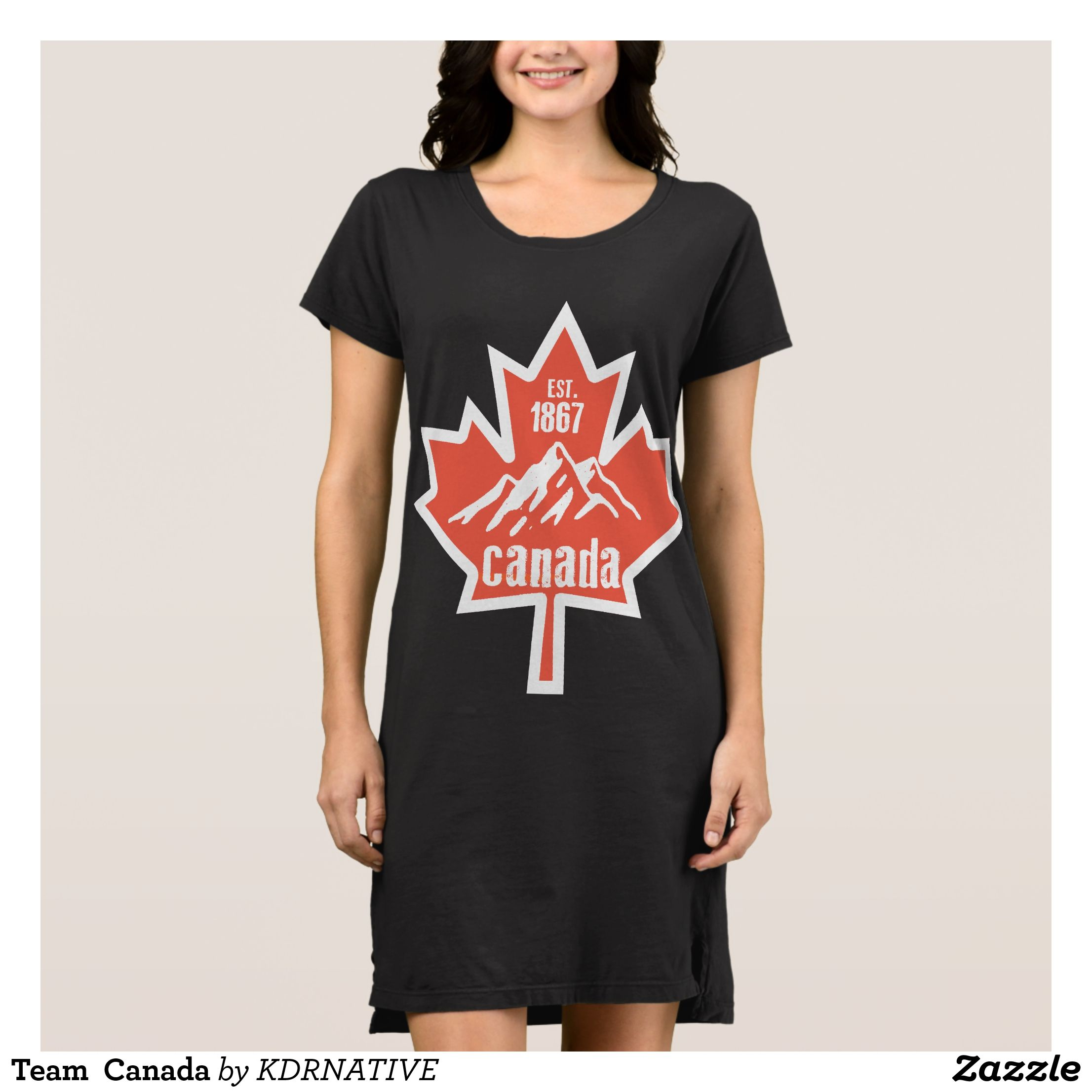 fashion designer cover letter%0A Team Canada Dress  Fashionable Women u    s Dreses By Creative Talented Graphic  Designers   dresses