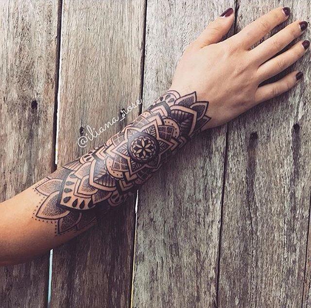 Mandala Tatuagem Feminina Braco Tatuagem Braco Tatuagem 3d Feminina