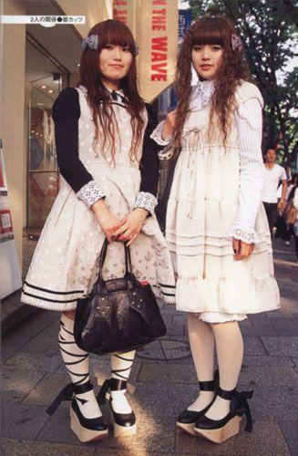 Old-school lolitas