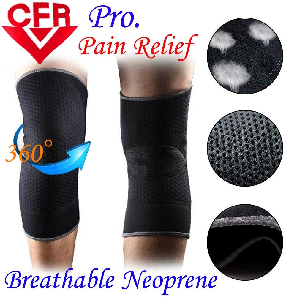 Neoprene Sports Kneepad Warm Running Badminton Football Knee Brace Patella Pad Ski Knee Protective Gear Volleyball Knee Support Knee Support Neoprene Supportive