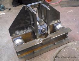 Homemade Roller Bender Metal Bending Tools Welding Projects Metal Fabrication Tools
