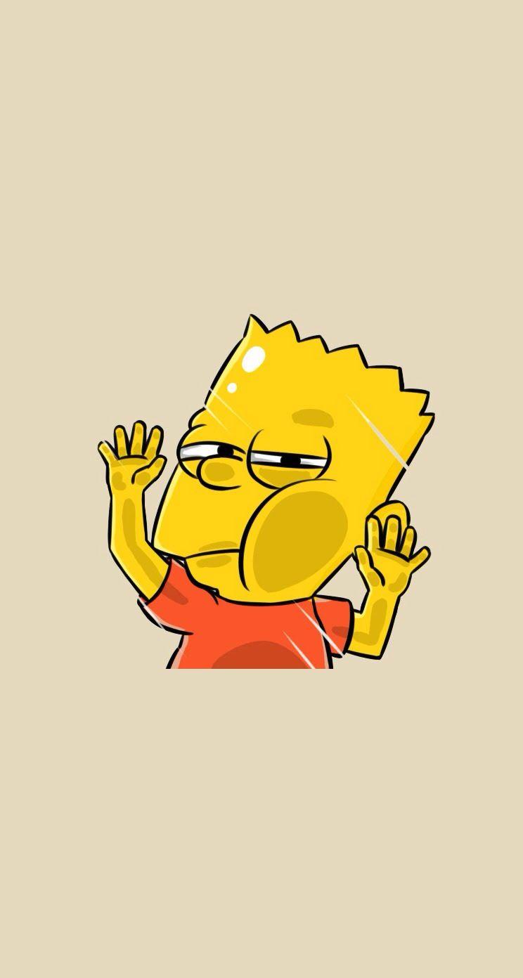 Funny Bart mobile9 Simpson wallpaper iphone, Cartoon