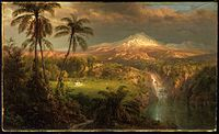 Frederic Edwin Church - Passing Shower in the Tropics, 1872, Princeton University Art Museum