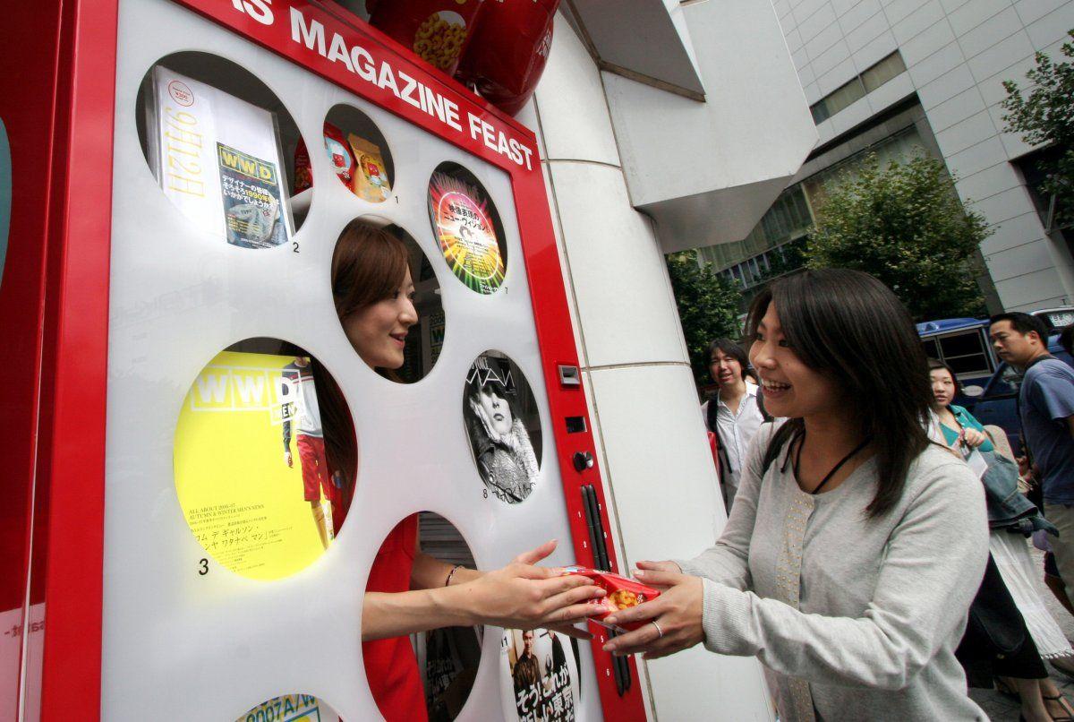 30 bizarre vending machines from around the world