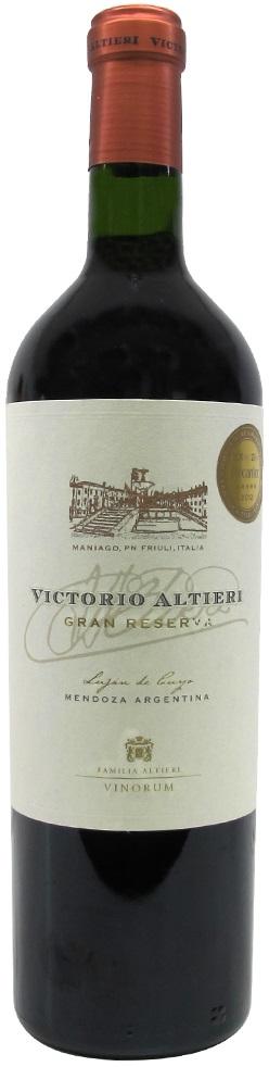 Victorio Altieri Gran Reserva 85 Malbec 10 Cabernet Sauvignon 5 Tannat 2010 Bodega Vinorum Lujan De Cuyo Mendoza Wine Vinhos