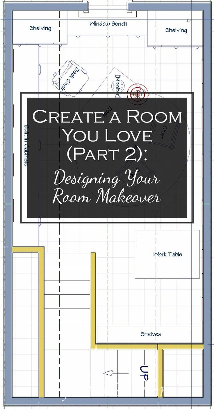 Create A Room You Love Part 2: Designing Your Room Makeover | Room Curb appeal and Interiors