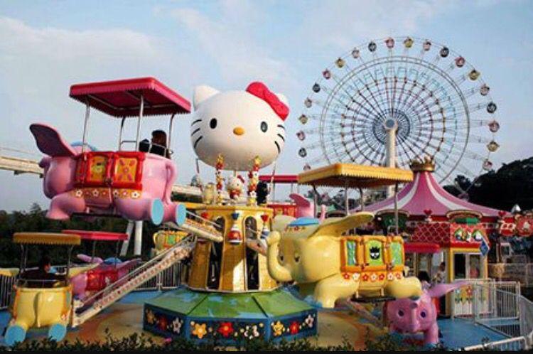 160e2d2ee Sanrio puroland, Tokyo   I want to go to Japan   Hello kitty ...