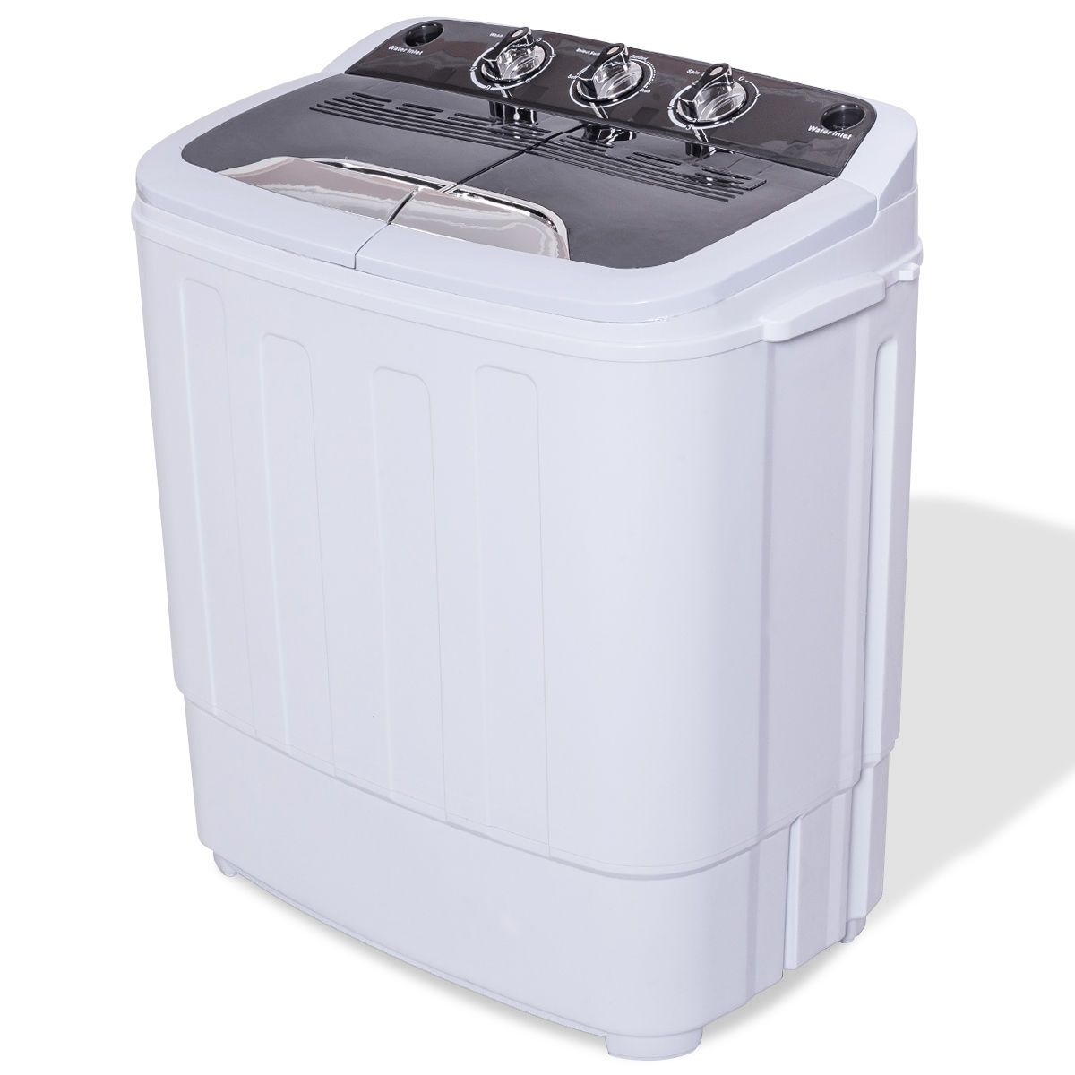 This Twin Tub Travel Washing Machine Is Portable And