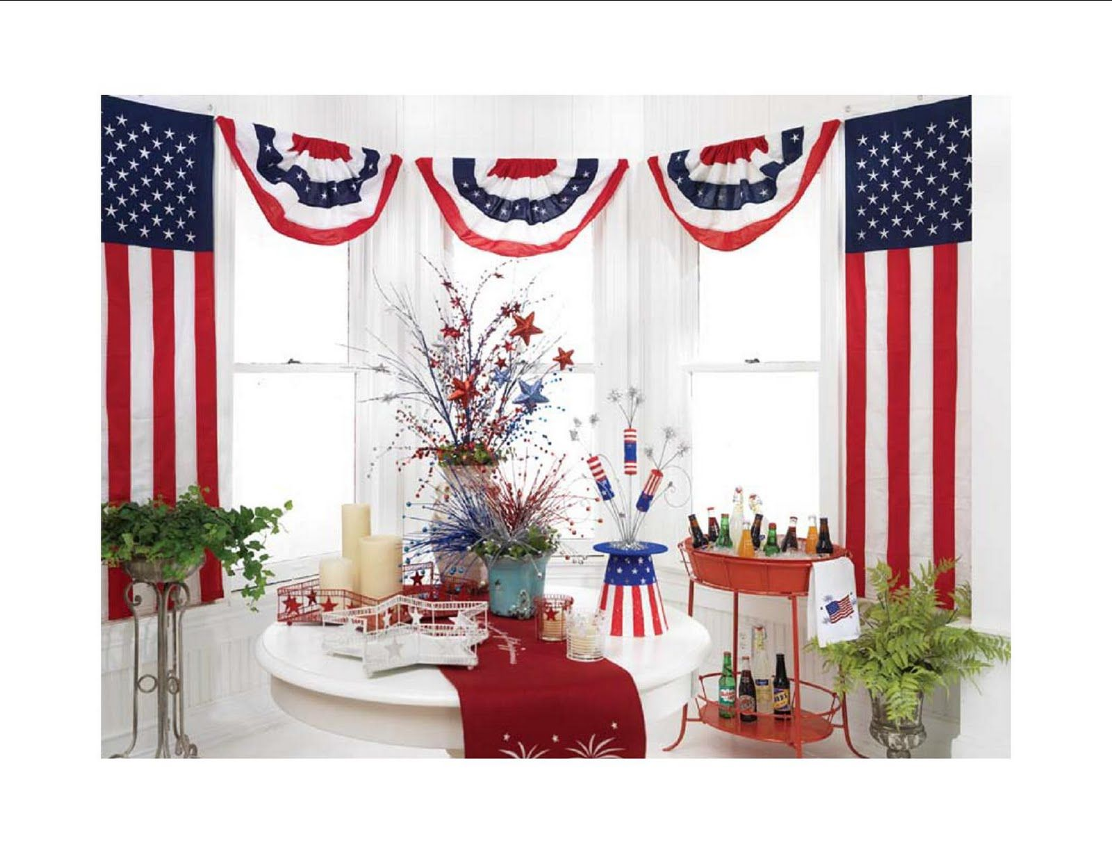 4th Of July Decorations | shelley b decor and more  sc 1 st  Pinterest : patriotic party decorating ideas - www.pureclipart.com