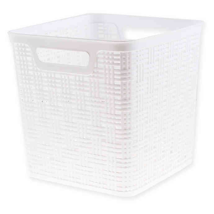 Starplast Plastic Wicker Storage Basket Collecton Tall Storage Baskets Wicker Baskets Storage Storage Baskets