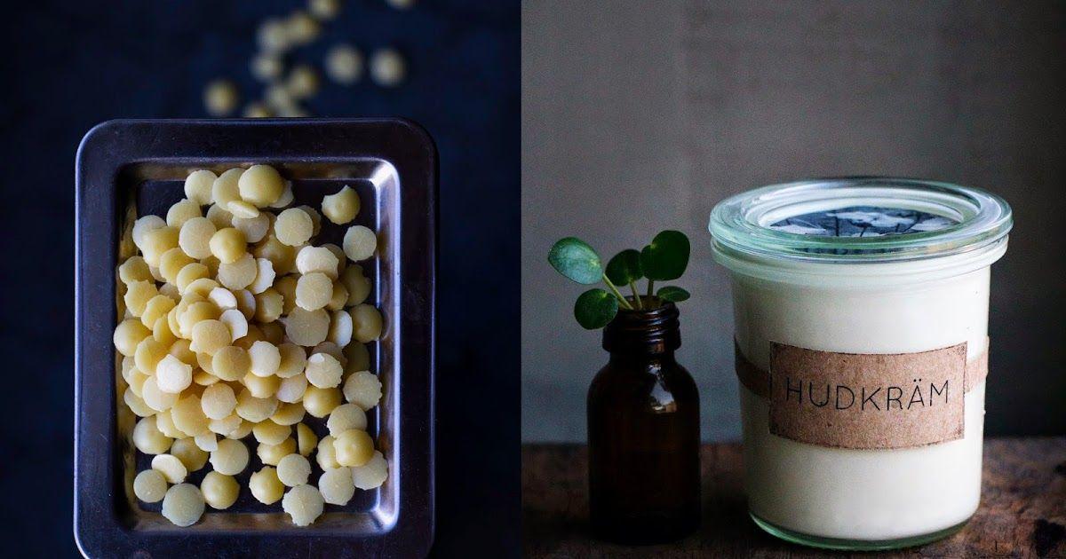 hemmagjord hudkräm recept