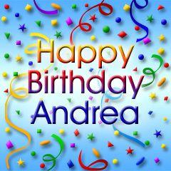 Happy Birthday Andrea 00 Happy Birthday Mary Happy Birthday
