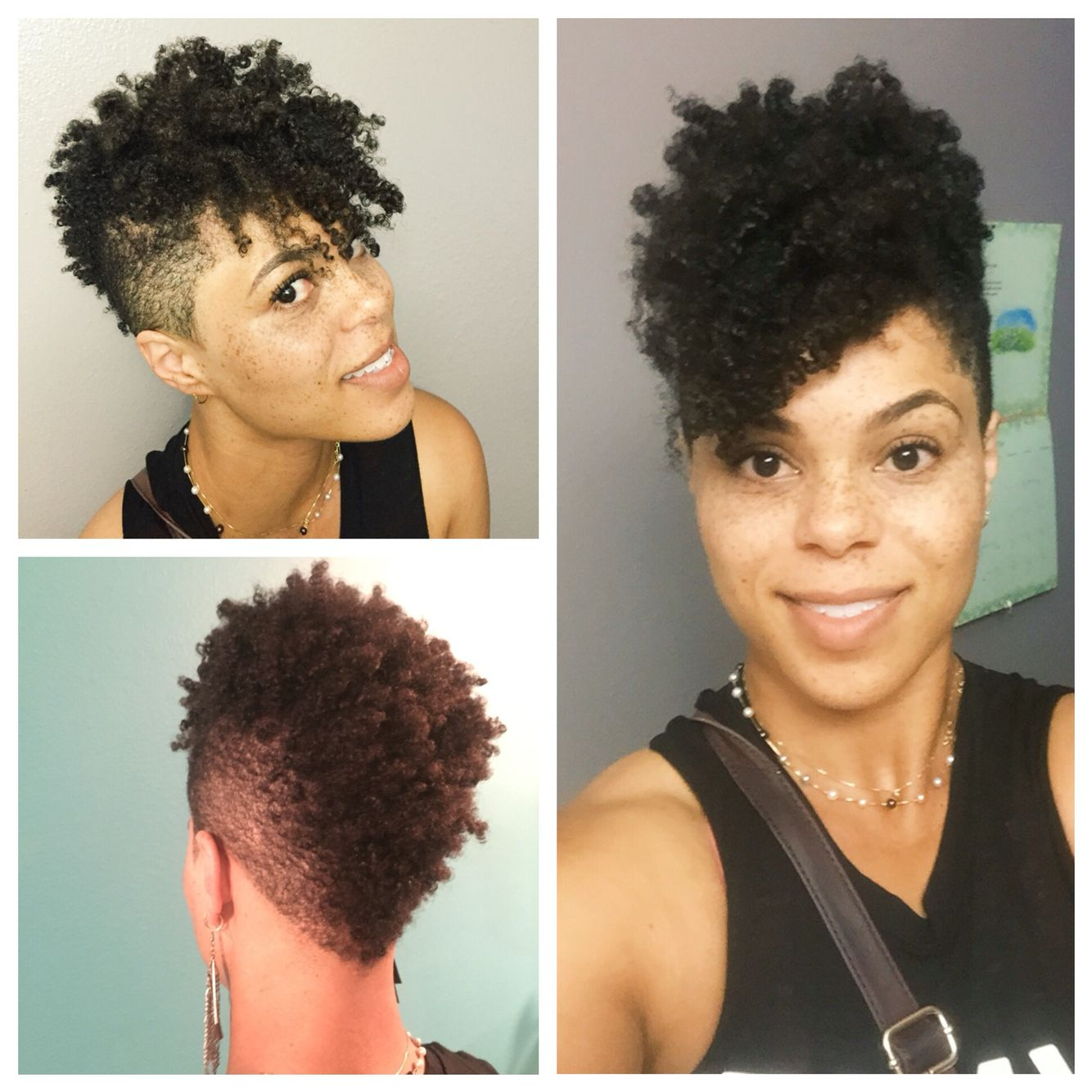 big chop tapered fro grow