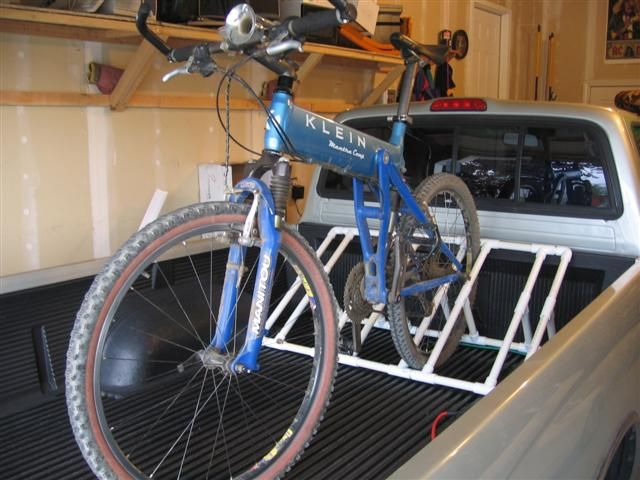 Another Version Of The Pvc Bike Rack With More Space