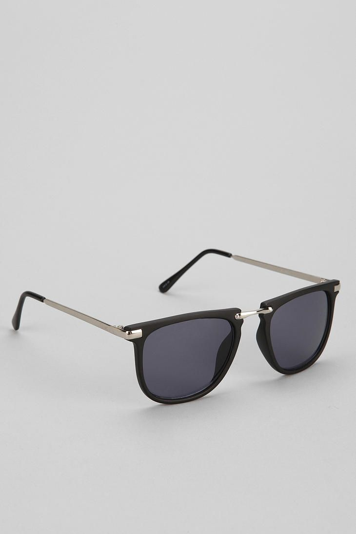 Quay Al Vin Flat-Top Square Sunglasses - Urban Outfitters