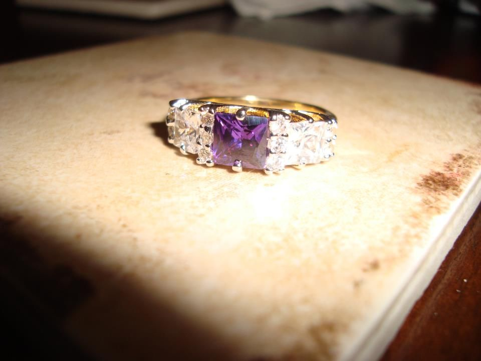 DC Fan Courtney Hippler's Ring from her Diamond Candle.